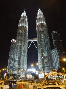 Petronas Towers by night