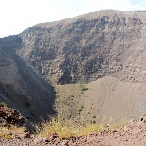 Crater of Vesuvio