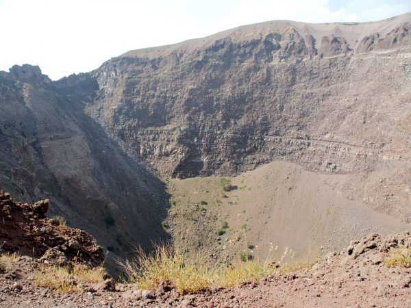 Crater of Vesuvio