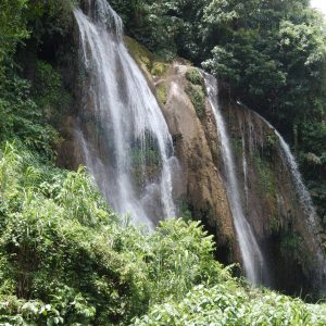 Waterfall in Topes de Collantes