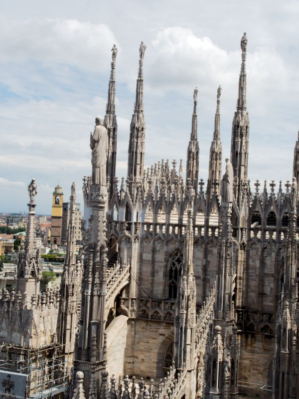 Roof of Milan Cathedral
